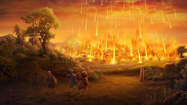 Destruição de Sodoma por Deus