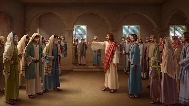 A repreensão do Senhor Jesus aos fariseus